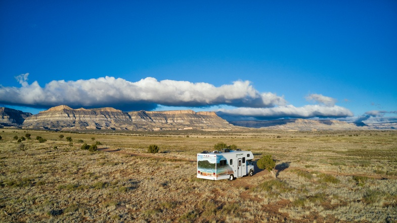 Southwest Road trip in a Cruise America RV to Northern Arizona -Photo by: Mike of MikesRoadTrip.com