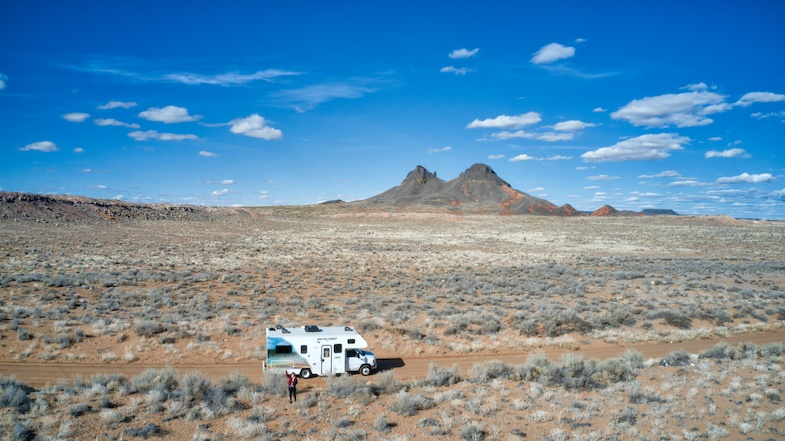 Southwest road trip to Northern AZ in a Cruise America RV - Photo by: Mike of MikesRoadTrip.com