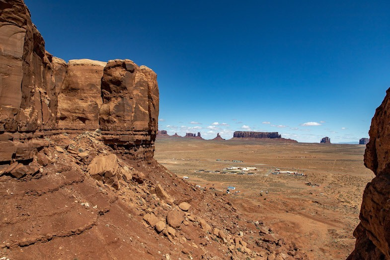 Monument Valley view from Goulding's by Mike of MikesRoadTrip.com