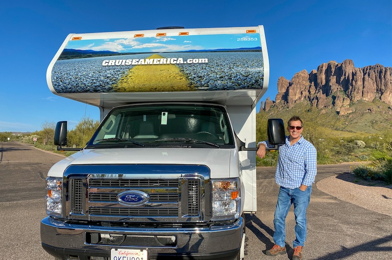 Southwest Road Trip to the Lost Dutchman State Park with Cruise America
