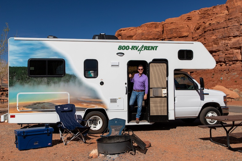Southwest road trip to Monument Valley at Goulding's camp ground - Photo by Mihaela Popa of WorldTravelBug.com