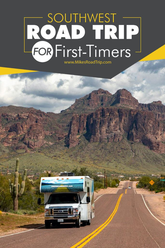Southwest Road Trip for first-timers in Cruise America RV