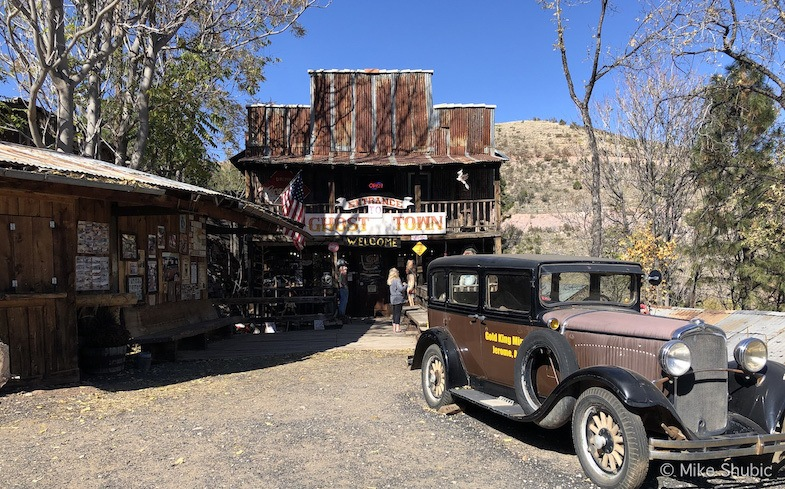 Gold King Mine & Ghost Town in Jerome, AZ. Photo by: Mike of MikesRoadTrip.com