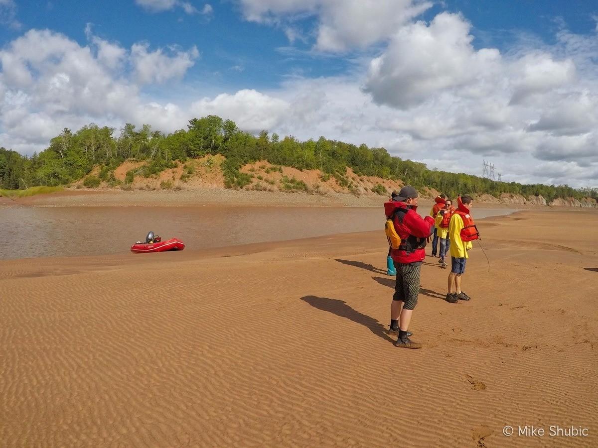 Tidal Bore Rafting in Nova Scotia by MikesRoadTrip.com