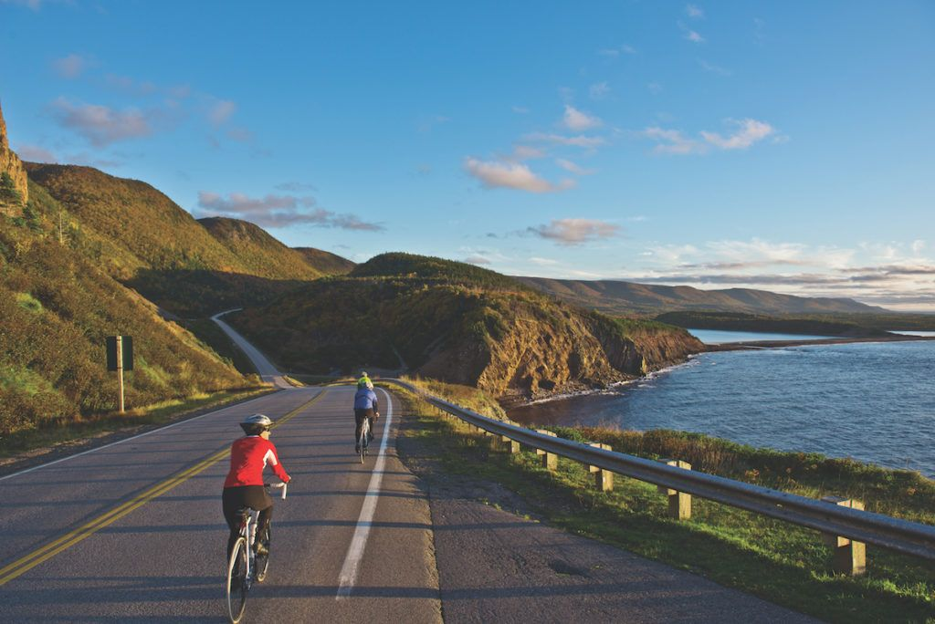 Top-10 Places to visit in Nova Scotia - Cabot Trail Cycling and Scenic view