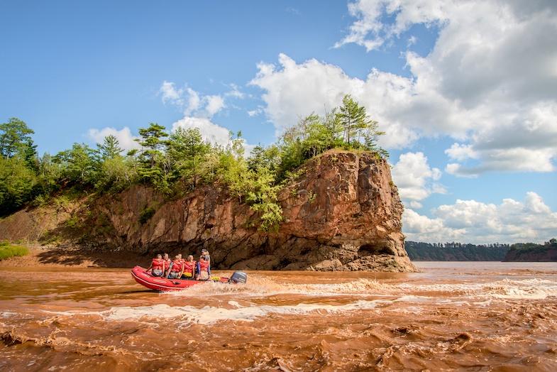 TIDAL BORE RAFTING top 10 things to do in Nova Scotia