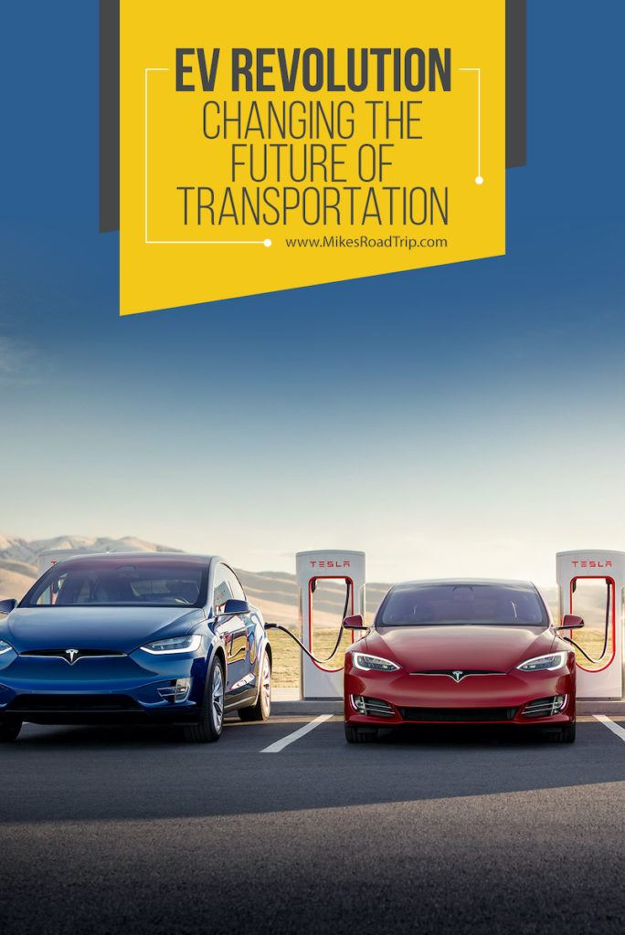 EV Revolution - The Future of transportation, road trips and the automotive industry