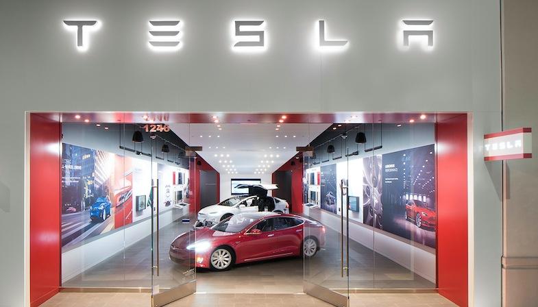 Tesla Retail location