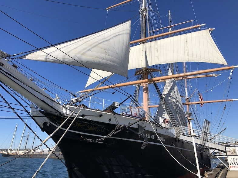 Star of India at the Maritime Museum in San Diego