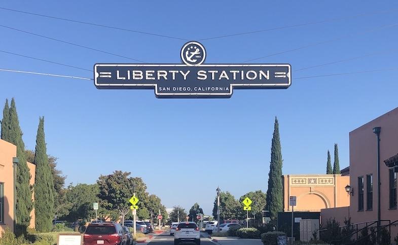Liberty Station sign