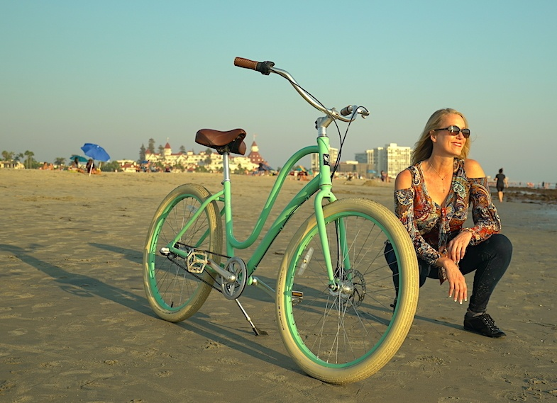 Biking on Coronado Island