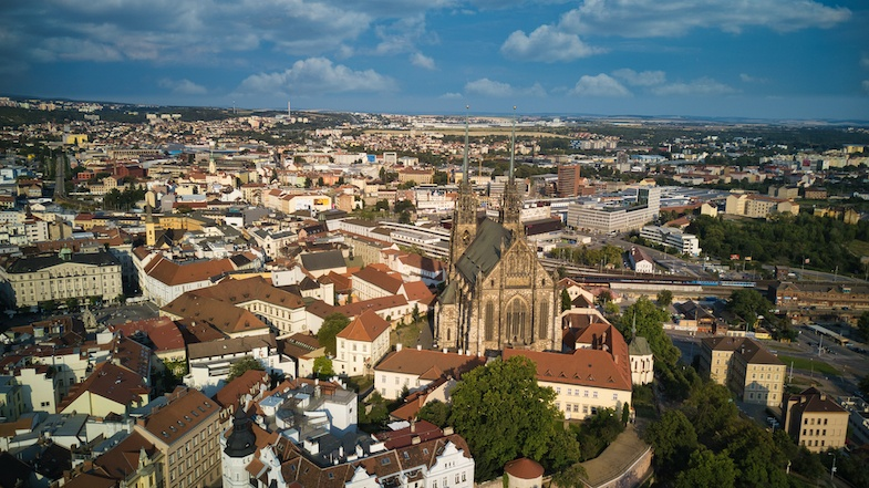 Brno is the 2nd largest city in the Czech Republic