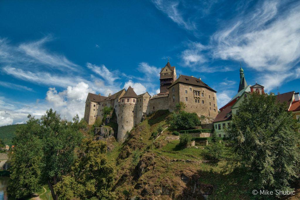 Loket Castle in Czechia - Photo by Mike Shubic of MikesRoadTrip.com